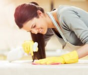 keep your home clean & sanitized